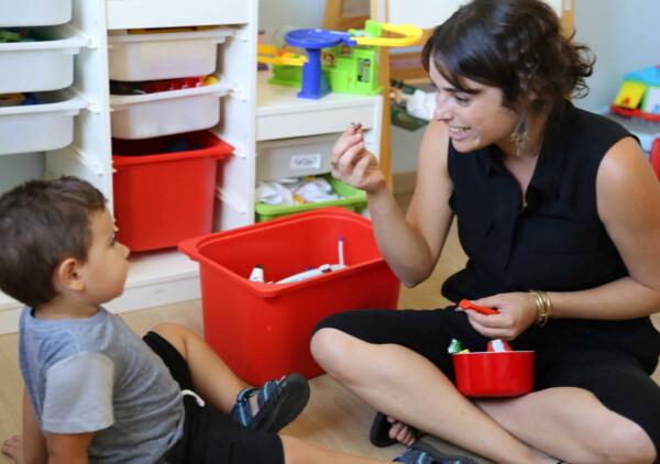 מבטים, מטפלת וילד, asd אוטיזם