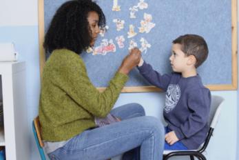 מבטים, מטפלת וילד, ניתוח התנהגות יישומי