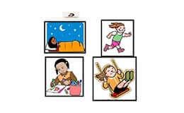 מבטים, ציור עם ילדים, ניתוח התנהגות