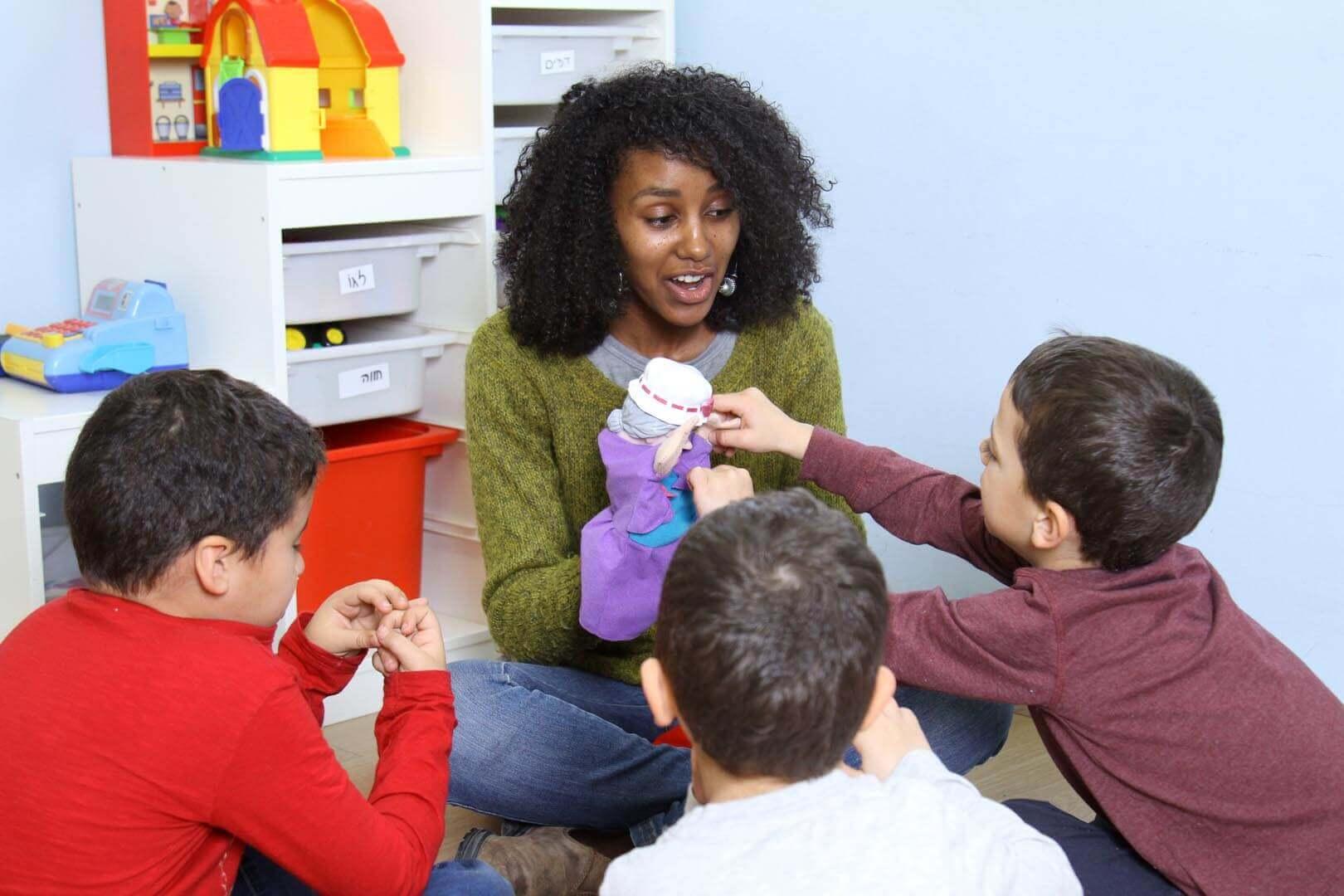 טיפול התנהגותי לילדים בגיל הרך